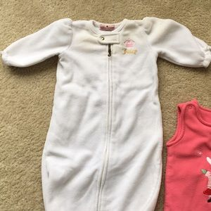 Juicy Couture Other - Wearable blanket and winter jumpsuit
